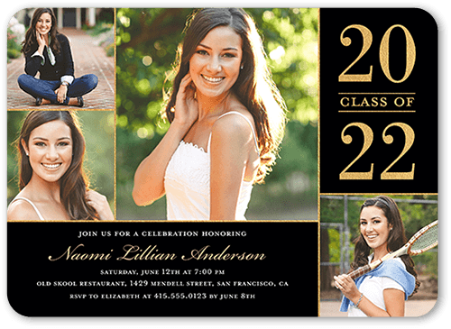 Proud Moment Graduation Invitation, Rounded Corners