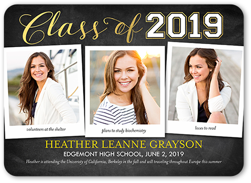 Notable Achievement Graduation Announcement