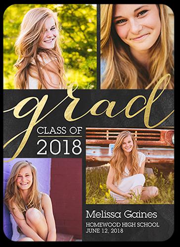 Picture Perfect Grad Graduation Announcement