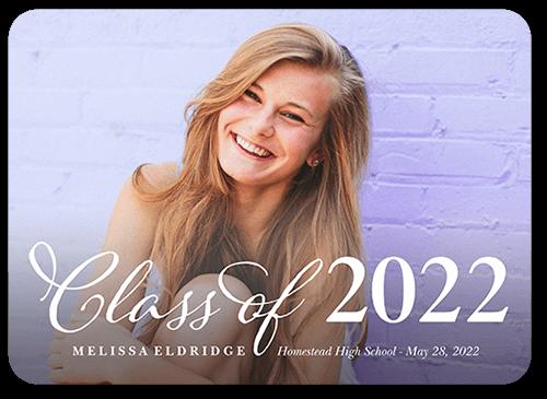 Simple Scripted Class Graduation Announcement