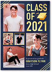 exceptional gallery graduation announcement