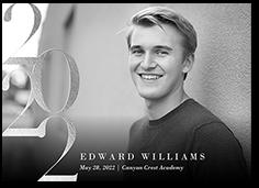 grand class graduation announcement