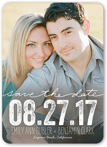 Enchanting Date Save The Date