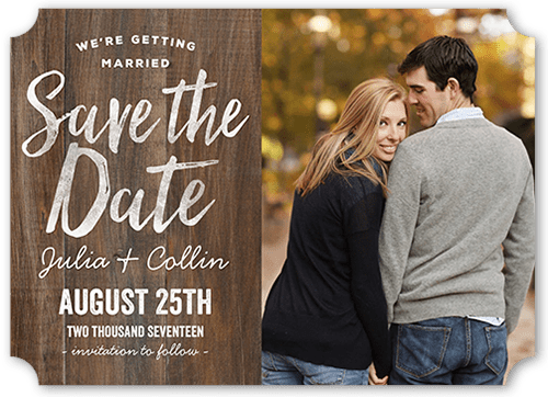 Getting Married Save The Date