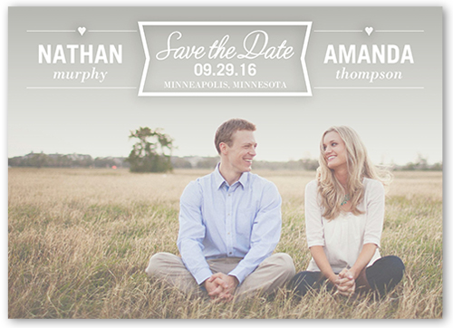 everlasting love save the date cards shutterfly