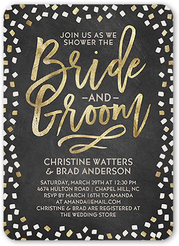 Sweetest Couple 5x7 Bridal Shower Invitations Shutterfly