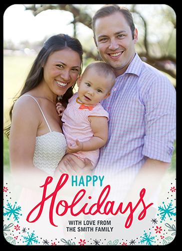 Happy Confetti Flakes Holiday Card