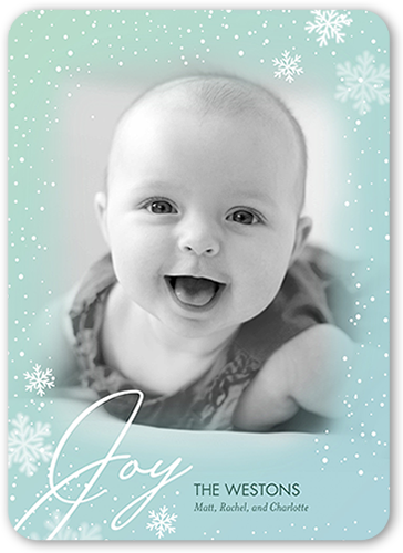 Clouded Joy Holiday Card