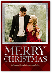 delicate sentiments holiday card