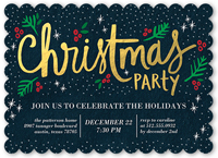 christmas party invitations shutterfly