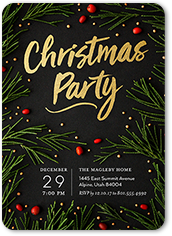 Christmas party invitations shutterfly stopboris