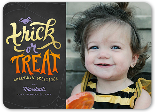 Trick Or Greetings Halloween Card
