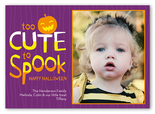 Cute To Spook Halloween Card