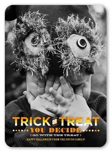 Treats Halloween Card
