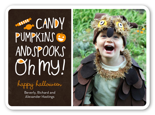 Candy Craze Halloween Card