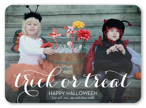 Scripted Trick Halloween Card
