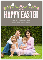 charming branches easter card 5x7 flat