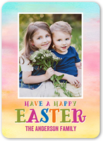 happiest colors easter card 5x7 flat