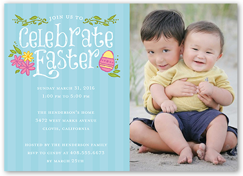 Celebrate Easter Easter Invitation