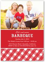 bbq party summer invitation 5x7 flat