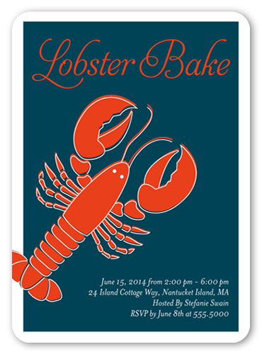 Lobster Bake Summer Invitation