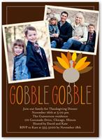 turkey day fall invitation 5x7 flat