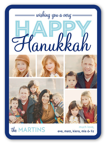 Montage Of Happiness Hanukkah Card