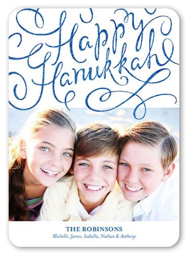 Sparkling Hanukkah Hanukkah Card