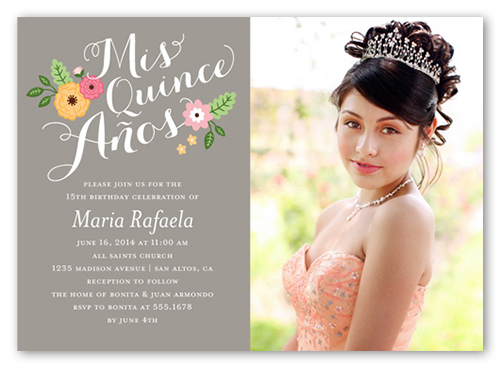 Cherished Event Quinceañera, Square Corners