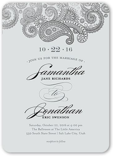 Wedding Anniversary Invitations | Wedding Anniversary Party