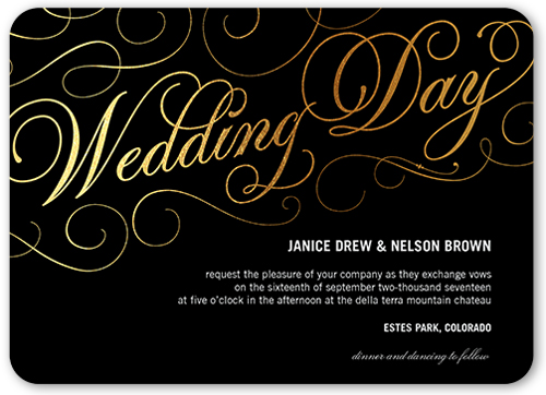 our charming day wedding invitation - Shutterfly Wedding Invitations