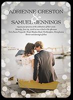 love in the air wedding invitation 5x7 flat