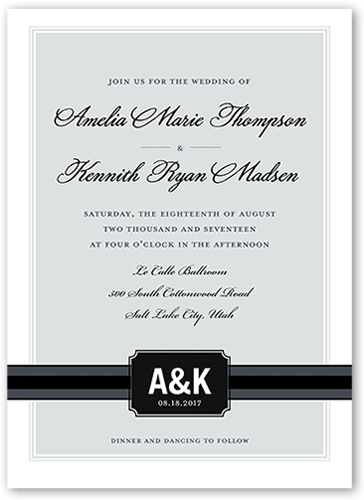 simply meant to be 5x7 wedding invitations shutterfly