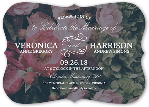 a perfect match wedding invitation - Shutterfly Wedding Invitations