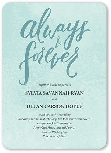 Teal wedding invitations shutterfly forever laced wedding invitation filmwisefo