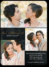 exquisite forever wedding invitation