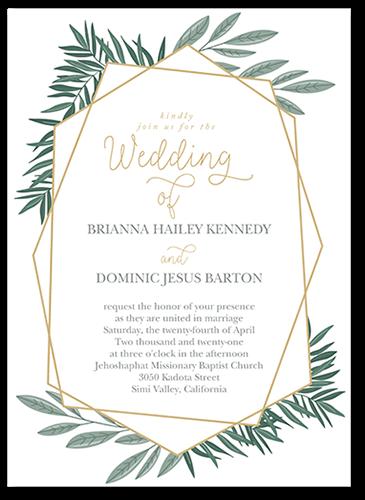 Lavish Lines Wedding Invitations Free Shipping Shutterfly