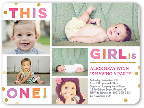 Custom Party Invitations | Shutterfly