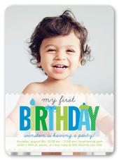 Baby boys first birthday invitations birthday invitations birthday invitation from 158 my first boy stopboris Gallery