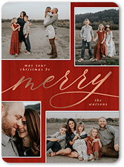 proud merry christmas card