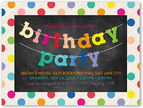 7th birthday invitations shutterfly 7th birthday invitations stopboris Gallery