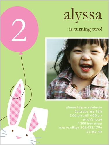 2nd birthday invitations | shutterfly, Birthday invitations