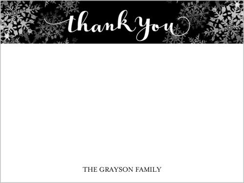 Joyful Joyful Holiday Thank You Card, Square