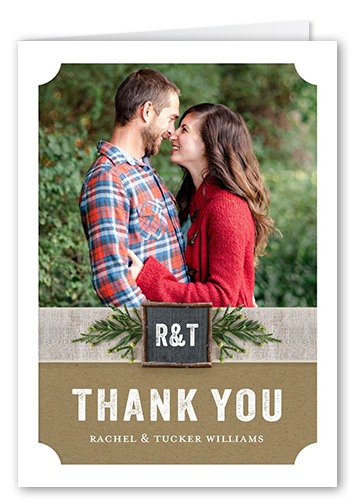 Special Sprig Thank You Card