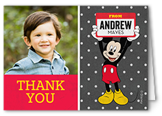 Disney Thank You Cards Mickey Minnie More Shutterfly