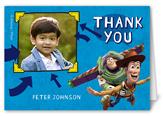 disney pixar toy story celebration thank you card 3x5 folded