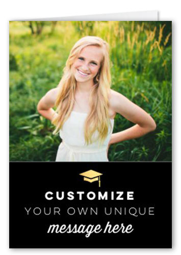 Personalized Greeting Thank You Card