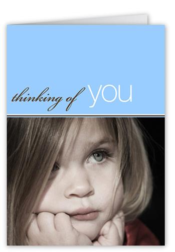 Thinking Of You 5x7 Folded Card