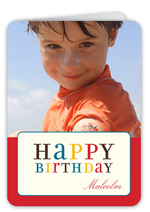 colorful wishes birthday card