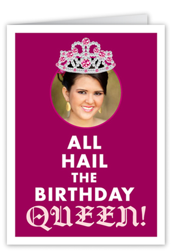 Birthday queen 5x7 greeting card birthday cards shutterfly bookmarktalkfo Choice Image